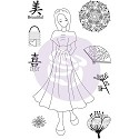 Julie Nutting Cling Stamps - Kyoko