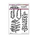 Ranger - Dina Wakley - Media cling stamp - Scribbled Branches
