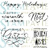 Clearstamp Stampavie - Holiday Wishes