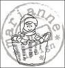 Clearstamp Little Sweethearts - Basket