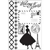 Prima Marketing - Cling stamps - Welcome to Paris