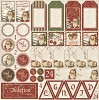 Maja Design - Scrapvel It`s Christmas time - Die Cut Sheet