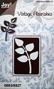 Noor! Design -  Vintage Flourishes - Bladeren (dik)