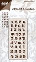 Noor! Design - Alphabet and numbers - Alphabet 3