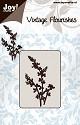 Noor! Design -  Vintage Flourishes - Bloemen/bladeren 4