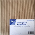 Joy! Crafts - Corrugated (Ribbel) Cardboard 30.5x30.5 - Grof