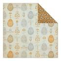Scrappapier Authentique - Hope - Custom - Decorative Eggs/Mini Floral