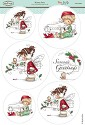 Stansvel THH Wee Stamps - Winter Fairy