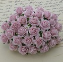 WOC Flowers - Pale Pink Mullberry Paper Roses - 15mm