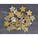 Prima Marketing - Natural Bark Icons - Stars