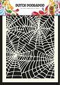 Dutch Doobadoo - Dutch Mask Art A5 - Spider web