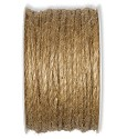 Jute koord - naturel - 3mm dik - per meter