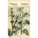 Petaloo - Botanica Floral - Grey Blue