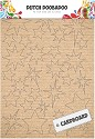 Dutch Doobadoo - Cardboard Art - Sterren