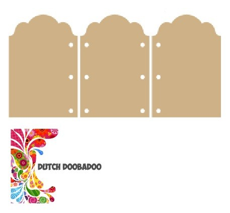 Dutch Doobadoo - MDF Art - Drieluik ornament