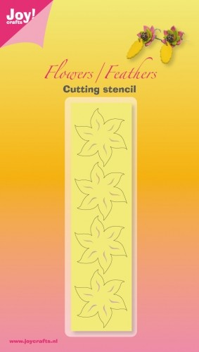 Cutting & Embossing mal - Joy! Crafts - Leaves / Feathers bloem 1