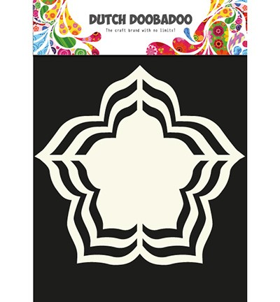 Dutch Doobadoo - Dutch Shape Art - Rose