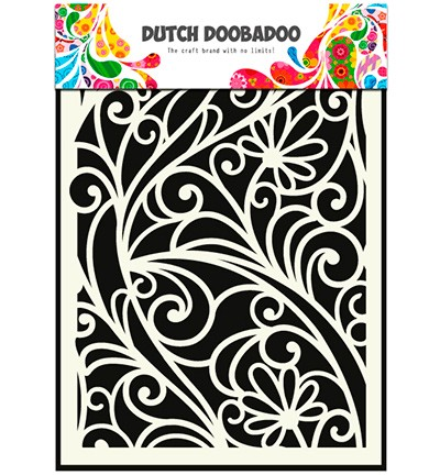 Dutch Doobadoo - Dutch Mask Art A5- Flower Window