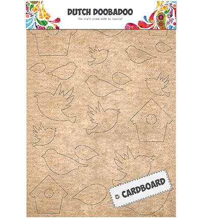 Dutch Doobadoo - Cardboard Art - Birds