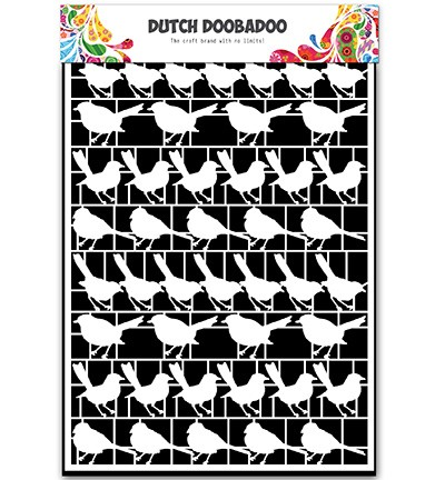 Dutch Doobadoo - Dutch Paper Art A5 - Birds