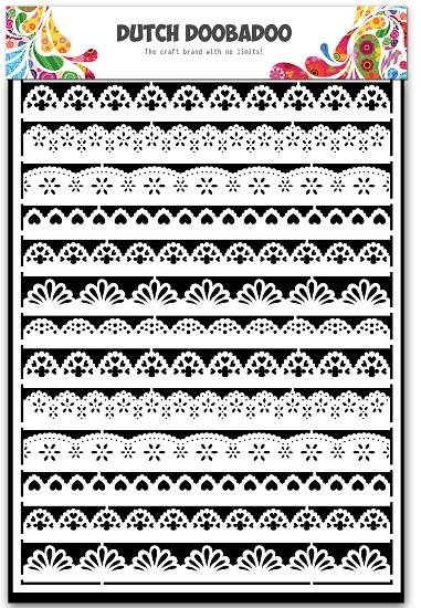 Dutch Doobadoo - Dutch Paper Art A5 - Borders
