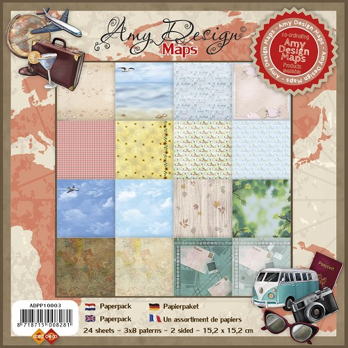 Paperpack - Amy Design Maps