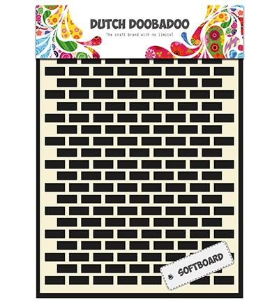 Dutch Doobadoo - Softboard Art - Bricks