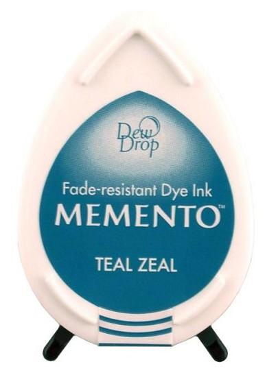 Stempelinkt - Memento - Dewdrop - Teal Zeal