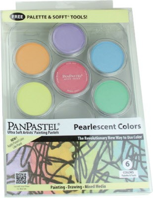 PanPastels - Pearl (6) Painting Tray-Kit