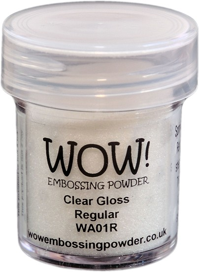 WOW embossingpoeder - Clear Gloss - Super Fine