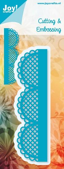 Noor! Design - Blauwe mal - Rand geschulpt