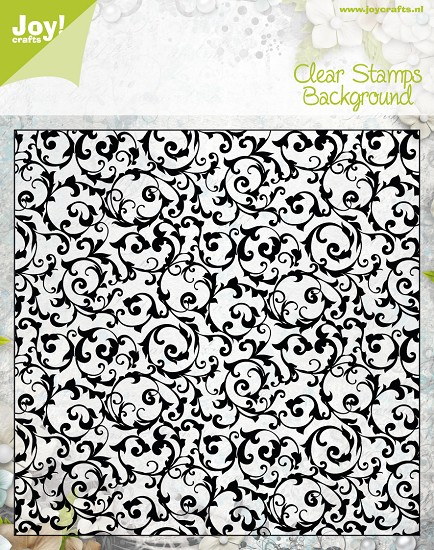 Noor! Design - Clear stamp - Background Flourishes