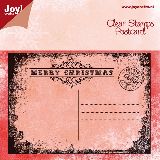 Noor! Design - Clear Stamp - Postcard Christmas