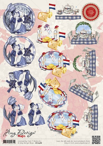 Amy Design Maps - Holland