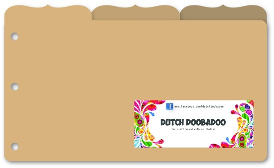 Dutch Doobadoo - MDF Art - Organizer