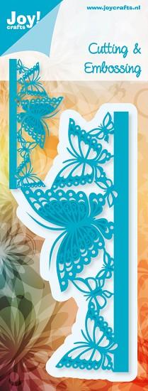 Noor! Design - Blauwe mal - Rand vlinder