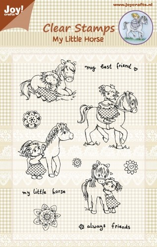 Joy! Crafts - Clear stamp - My Little Horse