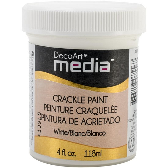 DecoArt Media - Crackle Paint White