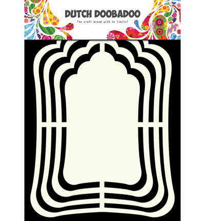 Dutch Doobadoo - Shape Art - Label Mirror