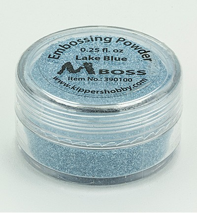 Embossingpoeder - Mboss - Lake Blue
