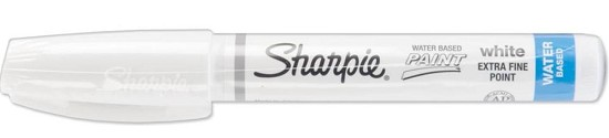 Sharpie - Extra Fine Point Poster Paint Marker - White