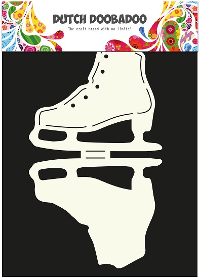 Dutch Doobadoo - Dutch Card Art - Ice Skate