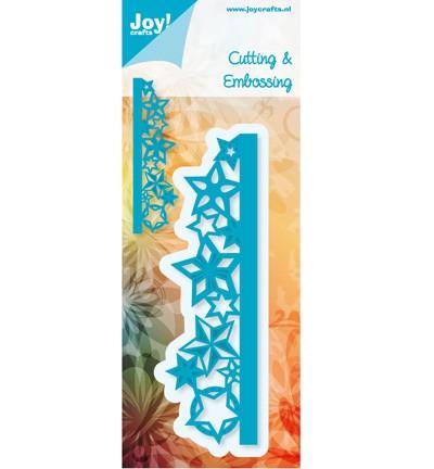 Noor! Design - Cutting & Embossingmal - Blauwe mal - Rand met sterren