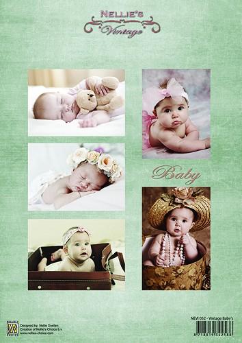 Knipvel Nellie Snellen - NEVI052 - Vintage Babies