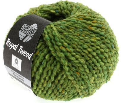 Breiwol Lana Grossa - Royal Tweed - Kleur 52