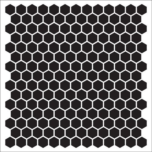 ScrapBerry`s - Mask Stencil - Tesselar pattern