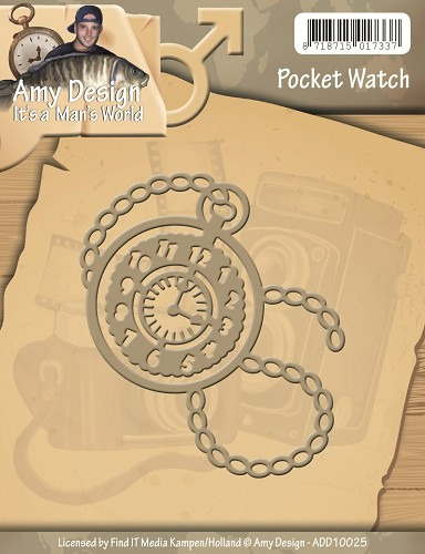 Stansmal Amy Design - Its a Mans World - Pocket Watch