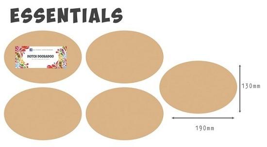 Dutch Doobadoo - MDF Art - Essentials ovaal
