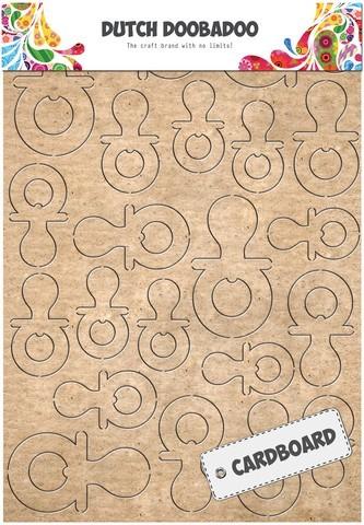 Dutch Doobadoo - Cardboard Art - Fopspeen