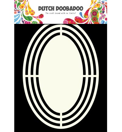 Dutch Doobadoo - Dutch Shape Art - Ovaal